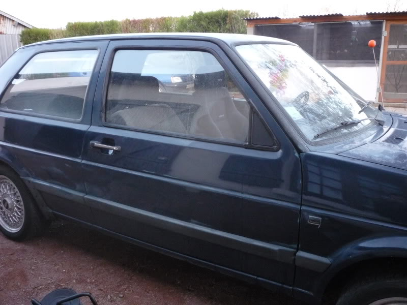 Golf 2 1600D daily projet Oldschool P1010649