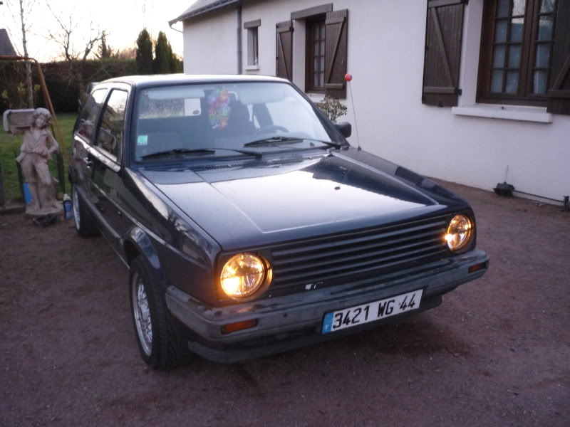 Golf 2 1600D daily projet Oldschool P1010651