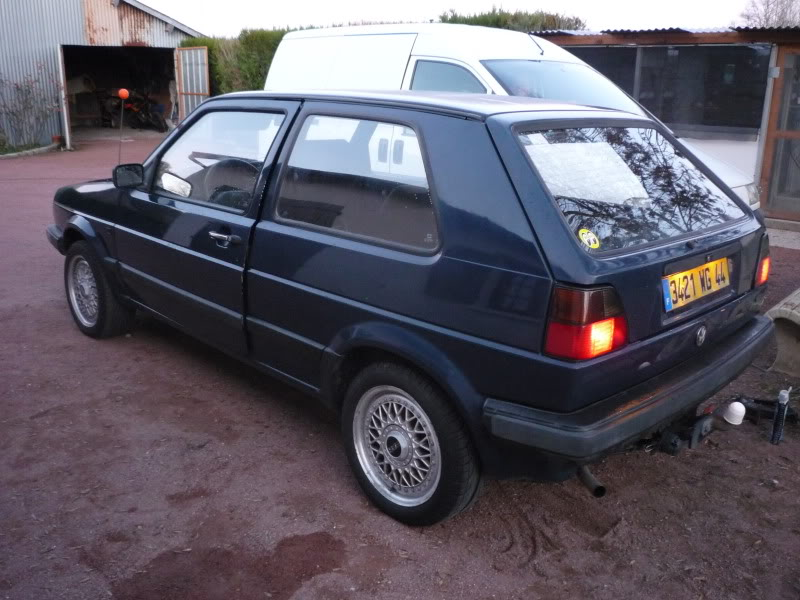 Golf 2 1600D daily projet Oldschool P1010655