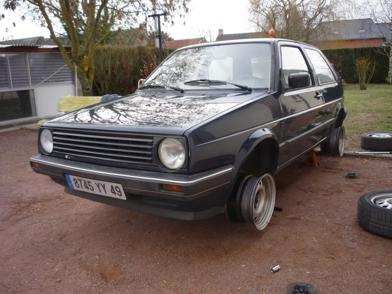 Golf 2 1600D daily projet Oldschool P1010740