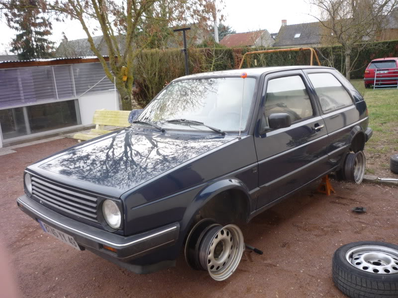 Golf 2 1600D daily projet Oldschool P1010741