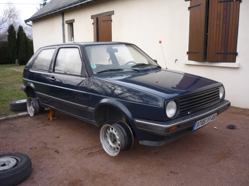 Golf 2 1600D daily projet Oldschool P1010742