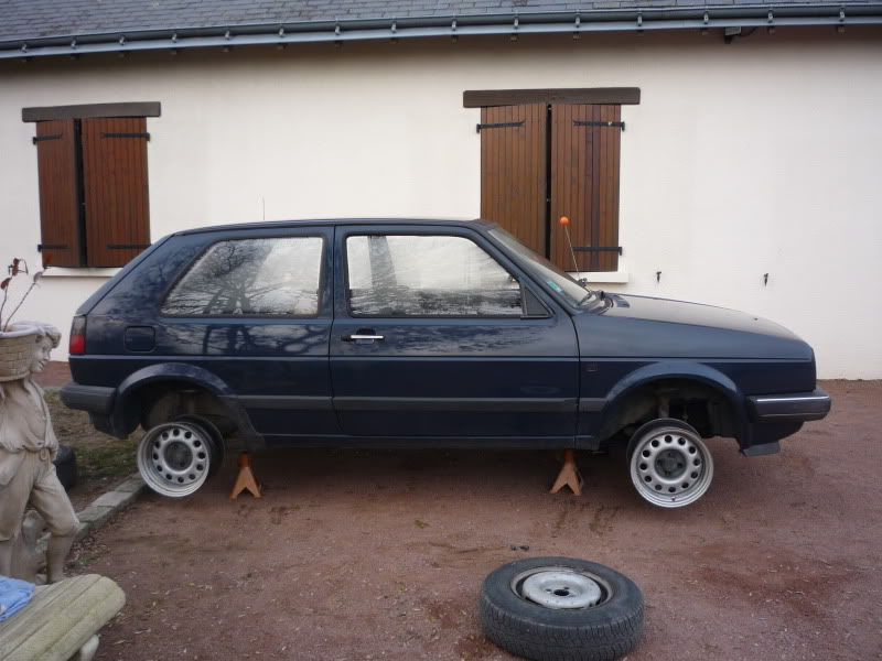Golf 2 1600D daily projet Oldschool P1010743