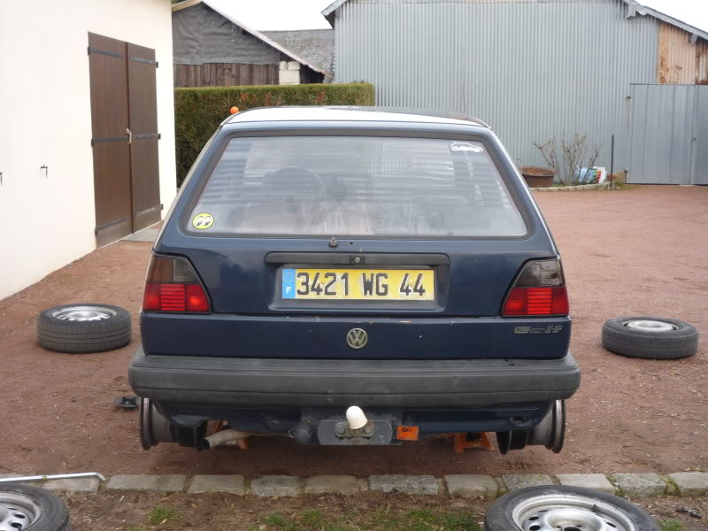 Golf 2 1600D daily projet Oldschool P1010746