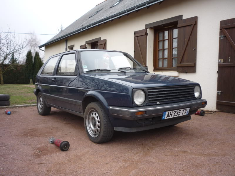 Golf 2 1600D daily projet Oldschool P1010760