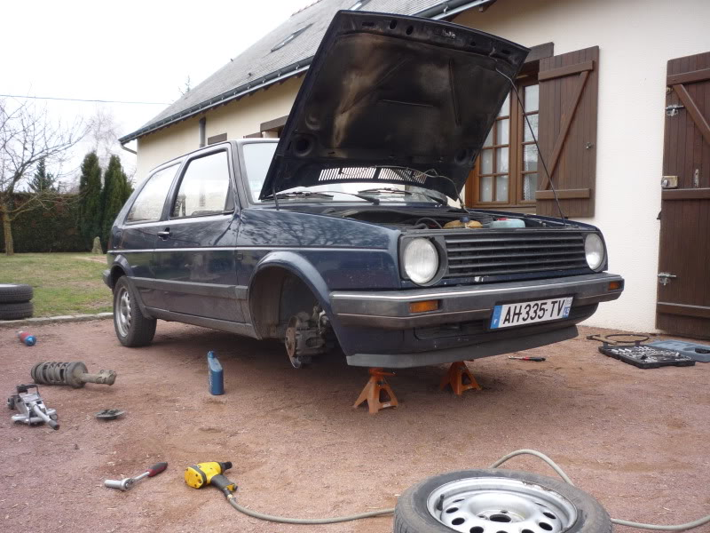 Golf 2 1600D daily projet Oldschool P1010761