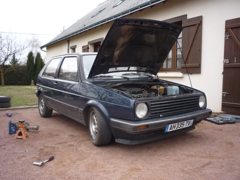 Golf 2 1600D daily projet Oldschool P1010762