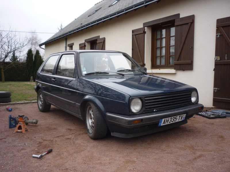 Golf 2 1600D daily projet Oldschool P1010763
