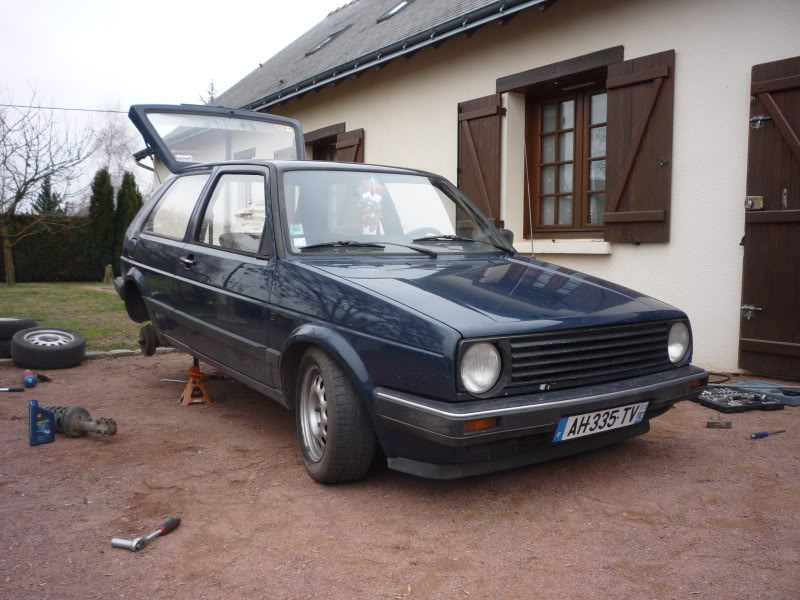Golf 2 1600D daily projet Oldschool P1010764