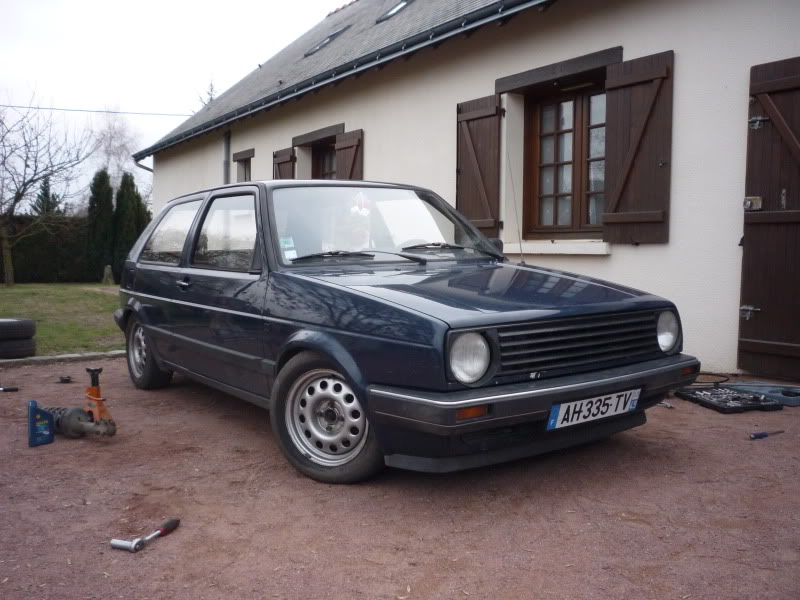 Golf 2 1600D daily projet Oldschool P1010765