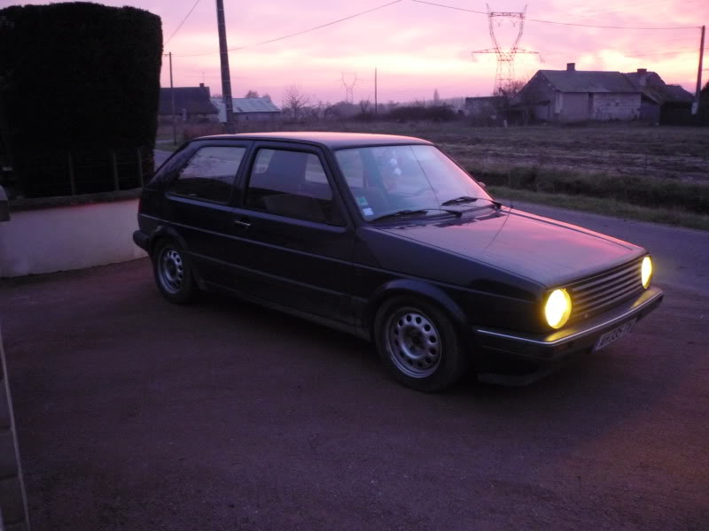 Golf 2 1600D daily projet Oldschool P1010768