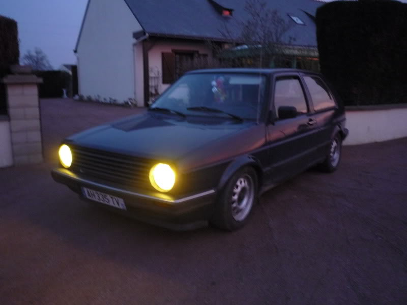 Golf 2 1600D daily projet Oldschool P1010770