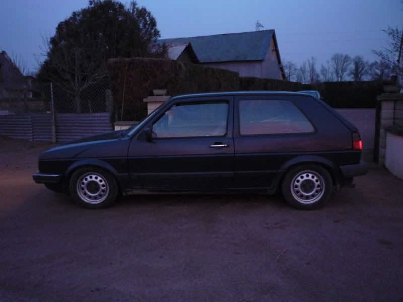 Golf 2 1600D daily projet Oldschool P1010773