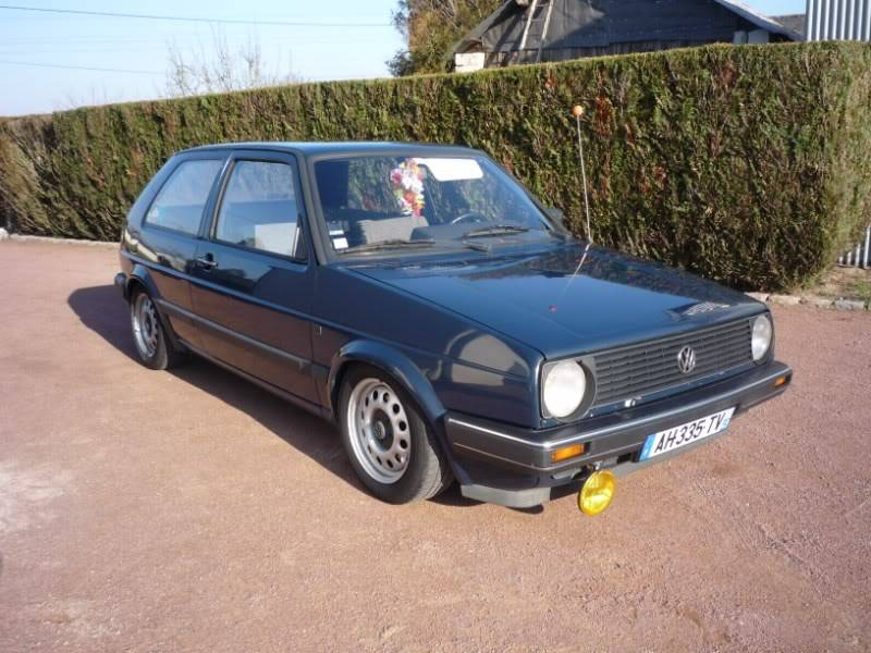 Golf 2 1600D daily projet Oldschool P1020144