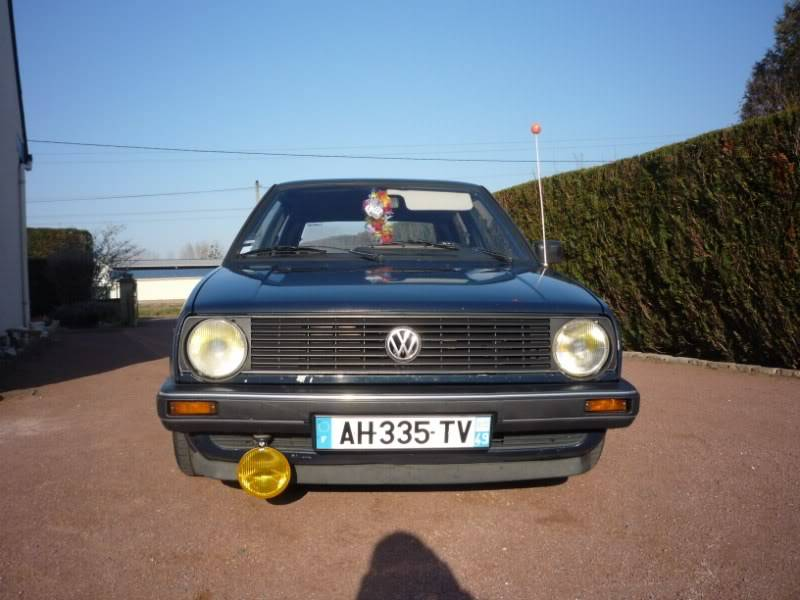 Golf 2 1600D daily projet Oldschool P1020145