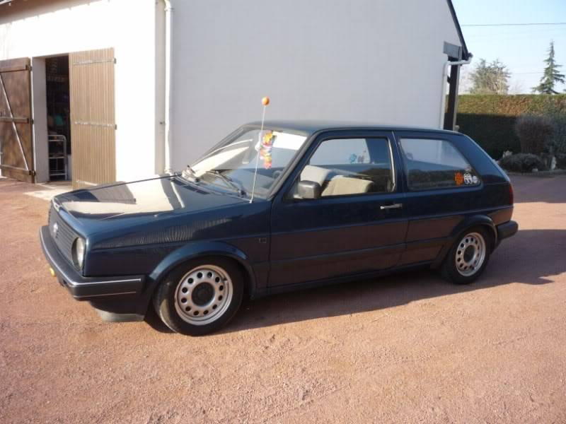 Golf 2 1600D daily projet Oldschool P1020147