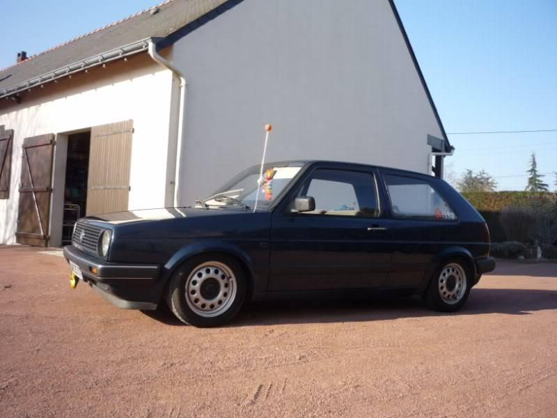 Golf 2 1600D daily projet Oldschool P1020148