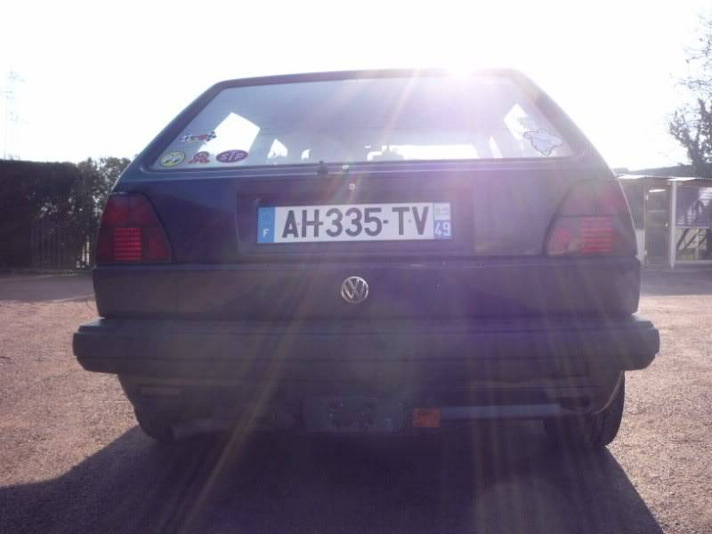 Golf 2 1600D daily projet Oldschool P1020150