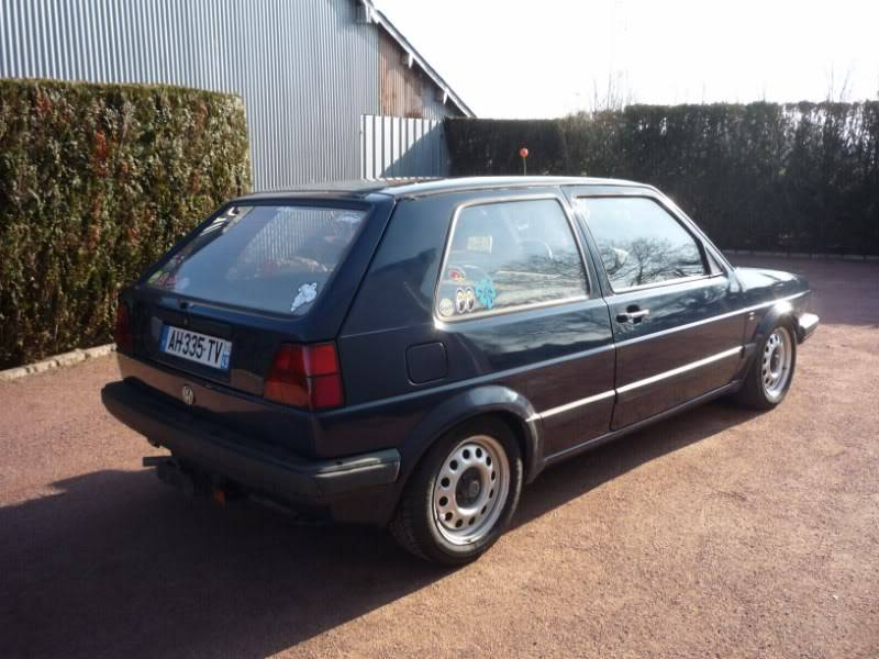 Golf 2 1600D daily projet Oldschool P1020151