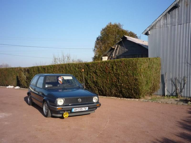 Golf 2 1600D daily projet Oldschool P1020152