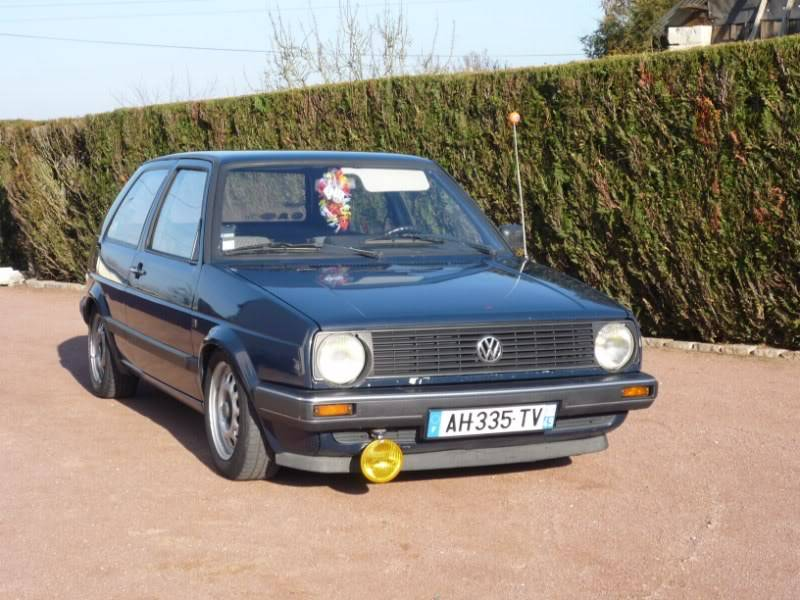 Golf 2 1600D daily projet Oldschool P1020153