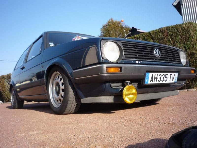 Golf 2 1600D daily projet Oldschool P1020157