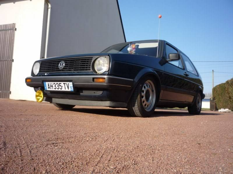 Golf 2 1600D daily projet Oldschool P1020158