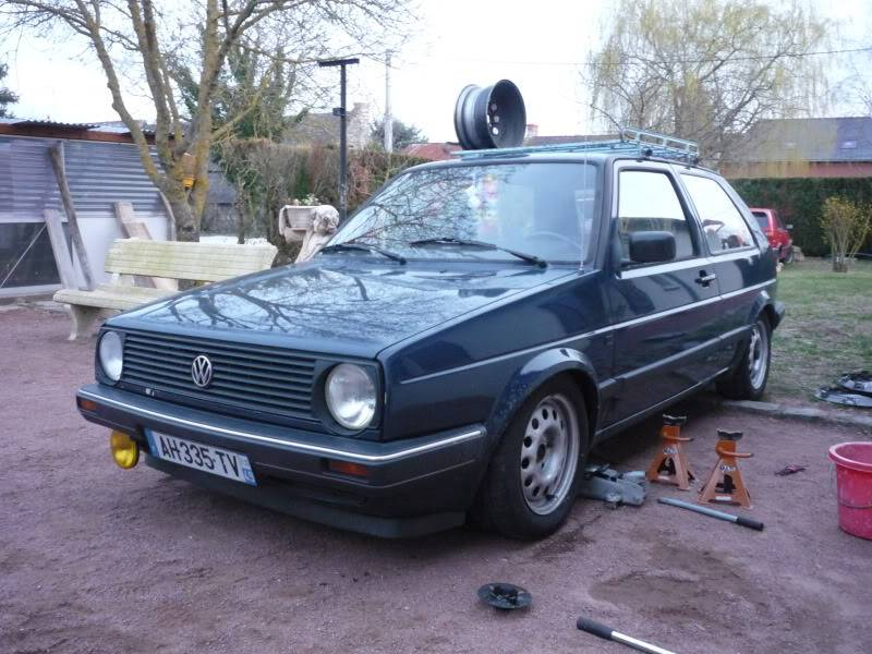 Golf 2 1600D daily projet Oldschool P1020257