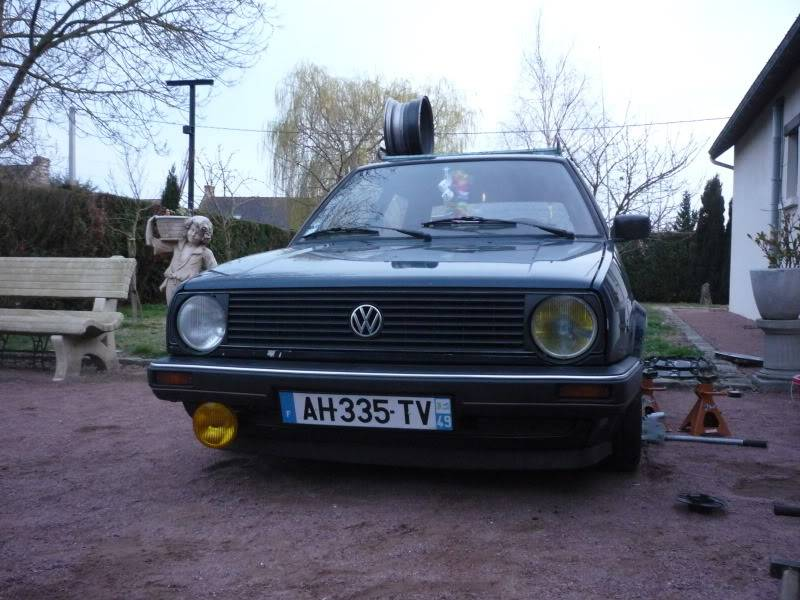 Golf 2 1600D daily projet Oldschool P1020258
