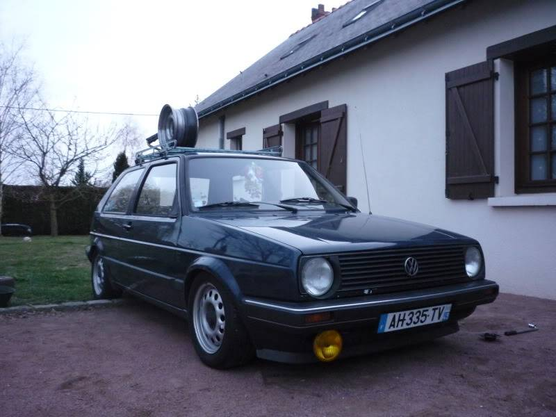 Golf 2 1600D daily projet Oldschool P1020259