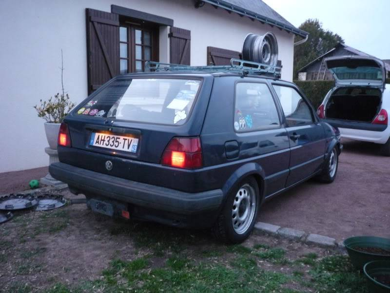 Golf 2 1600D daily projet Oldschool P1020260