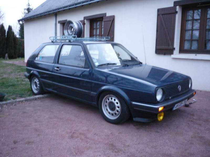 Golf 2 1600D daily projet Oldschool P1020261