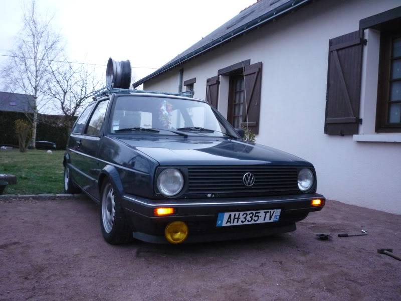 Golf 2 1600D daily projet Oldschool P1020262