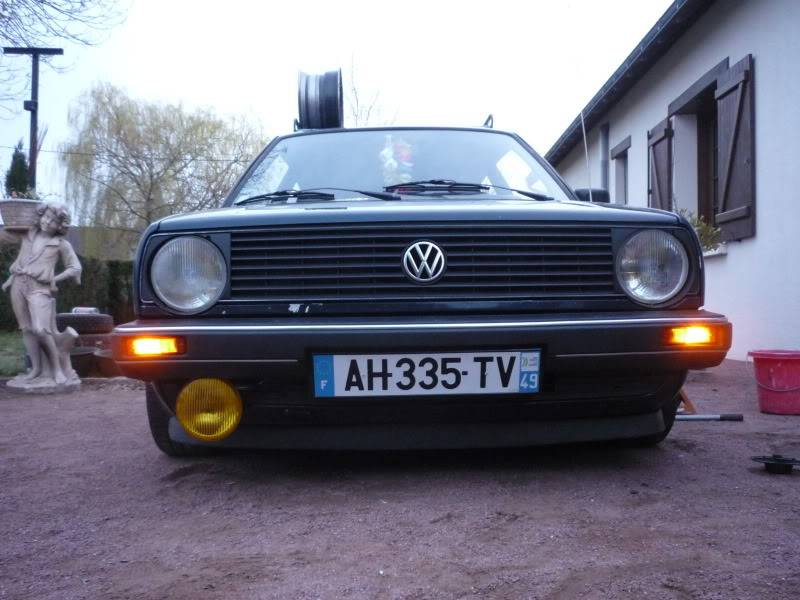 Golf 2 1600D daily projet Oldschool P1020263
