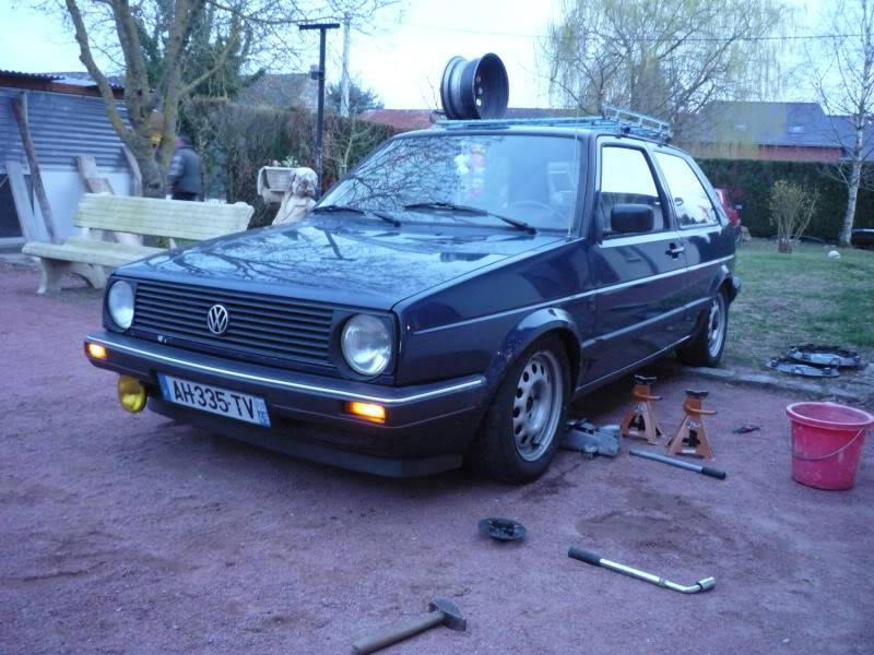 Golf 2 1600D daily projet Oldschool P1020265