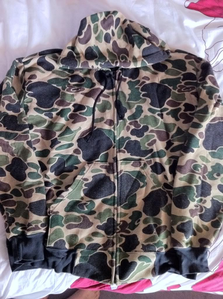 Gold tiger tropical shirt & duck hunter hoodie 61e8b8da