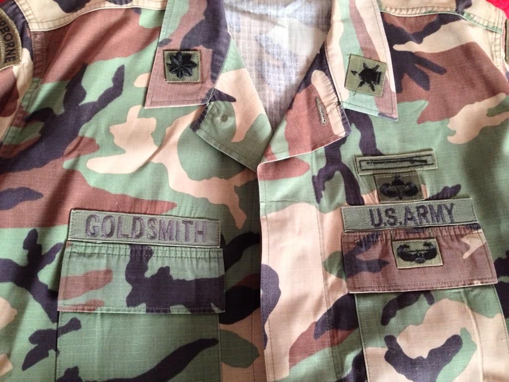 Lt. Col Stu Goldsmith Psyops C/O JFK special warfare JFK BDU modified 6974303A-B7DE-47E2-95B5-61EA7AAF8D59-13236-00000A53C74A1225