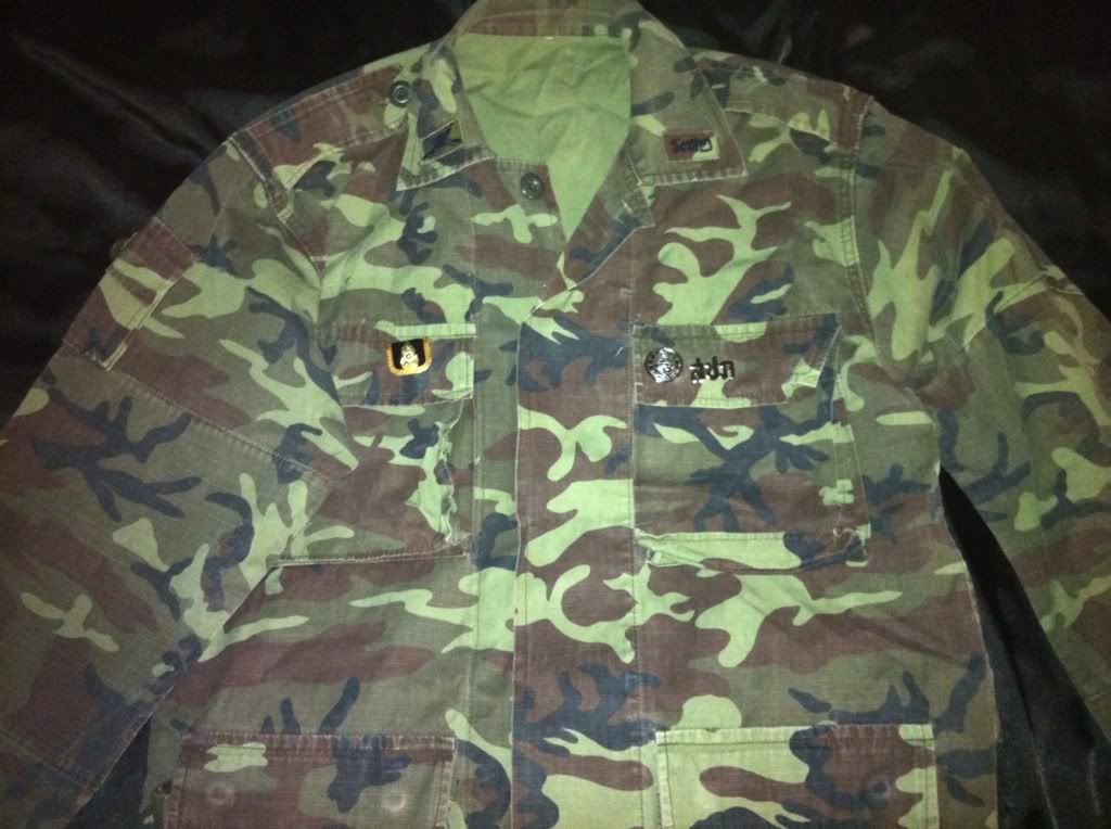 Thailand sniper jacket with bling bling badges ? 7474aa7a