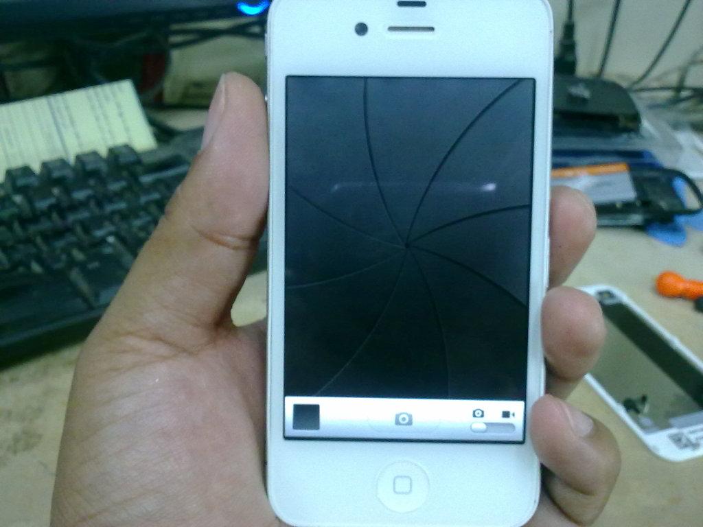 i phone 4 back n front camera solution 09102012408