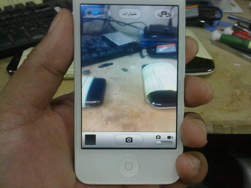 i phone 4 back n front camera solution 09102012415