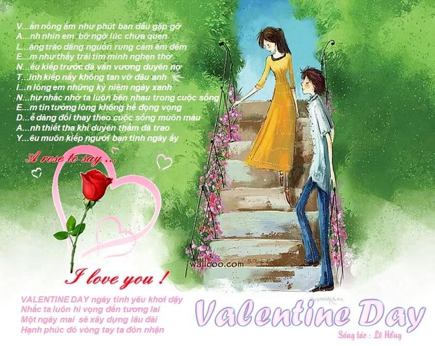 CHÚC XUÂN LH_ValentineDay