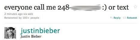 """Justin Bieber """"trả thù"""" qua Twitter 1145358_4S"""