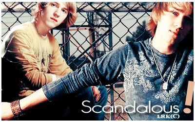 Hot hot hot! Scandalous