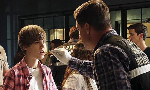 Justin Bieber first look on CSI Justin-Bieber-CSI-1