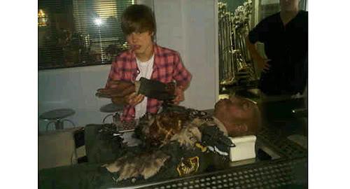 Justin Bieber first look on CSI JustinBieberCSI2