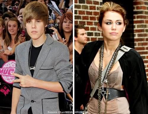 Justin Bieber mong mỏi đóng cặp với Miley Cyrus  W0005910202