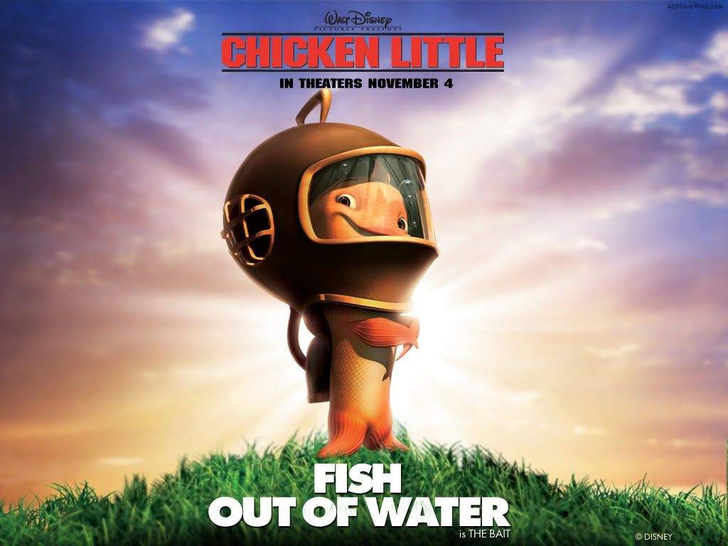 Chicken little Chicken_Little_Fish_Out_of_water