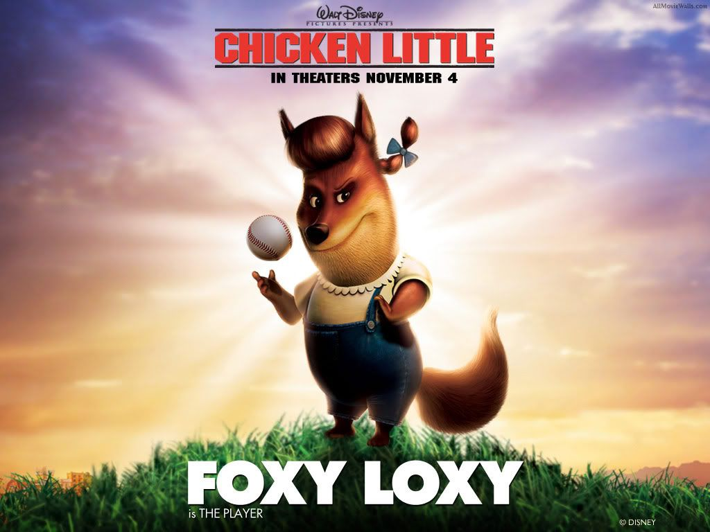 Chicken little Chicken_Little_Foxy_Loxy