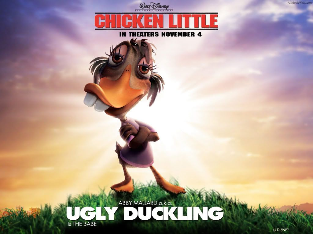 Chicken little Chicken_Little_Ugly_Duckling