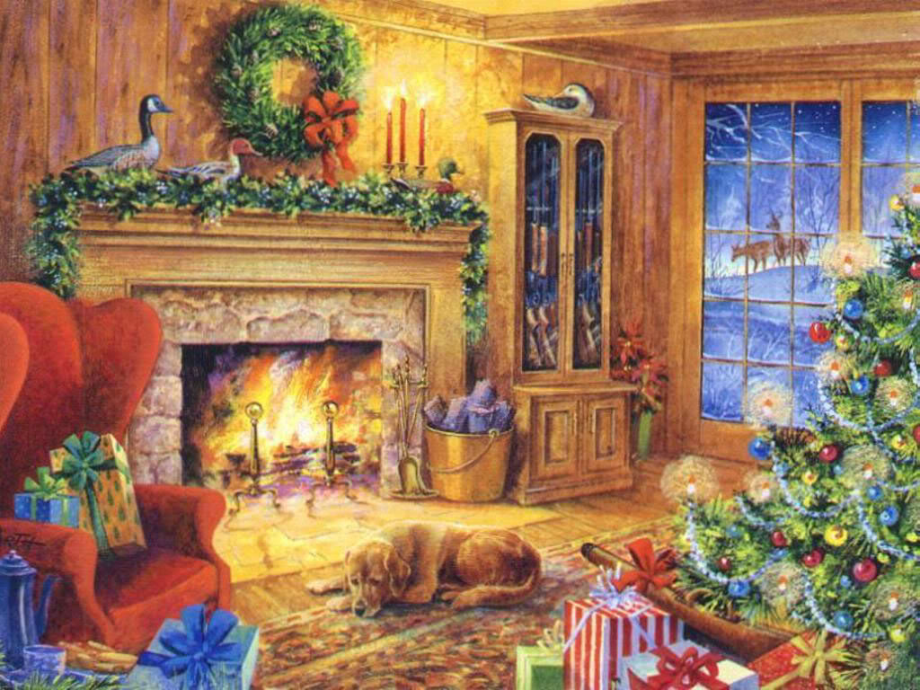Some cute wallpapers I found (almost are black and blue) Christmas_wallpaper__002931_